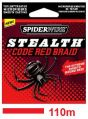 PLECIONKA SPIDERWIRE 0.25MM 22.9KG 110M STEALTH CODE RED BRAID RED ROUGE