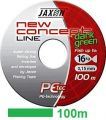 PLECIONKA JAXON NEW CONCEPT DARK GREEN 100M / 30KG / 0.25MM