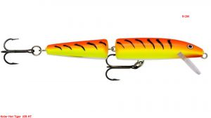 Rapala Jointed 9 cm Hot Tiger