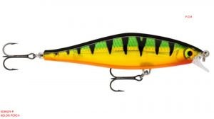 RAPALA Shadow Rap Shad 9 cm -Perch