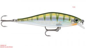 RAPALA Shadow Rap Shad 9 cm -Yellow Perch