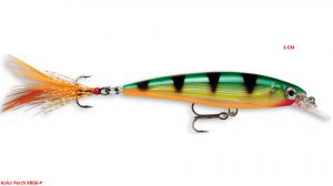 Rapala X-RAP 6 cm -Perch